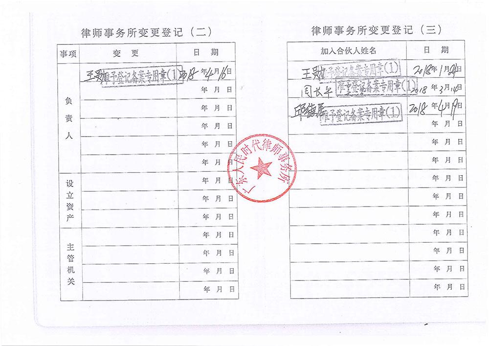 执业许可证3