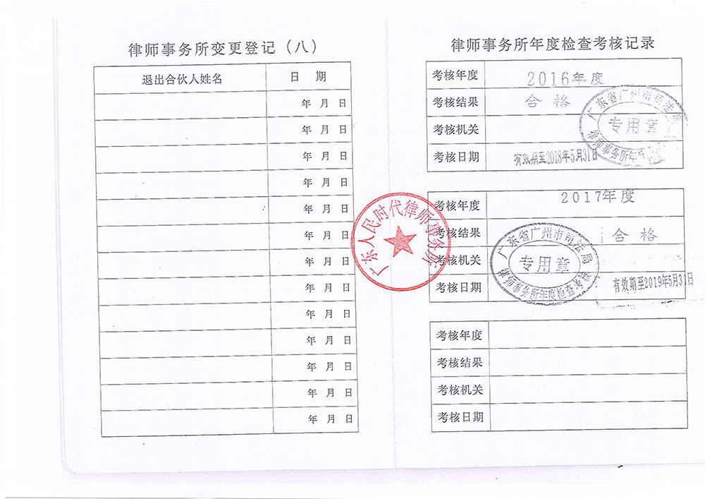 执业许可证5